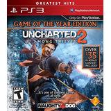Juego Físico Original Uncharted 2 Greatest Hits Ps3 Tienda