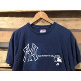Playera Yankees Majestic Vintage Style Yankees Oficial Mlb