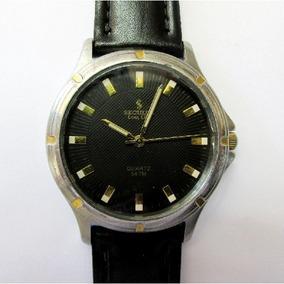 Relógio Seculus Long Life Grande Caixa Aço Inox Semi Novo