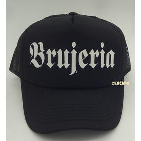 Boné Brujeria Bandas Rock Metal Silk Trucker Cap Aba Curva d33fcb8980f