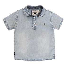 Camisa Jeans Masculina Regata - Calçados 277d10fb7d1