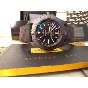 Relógio Breitling Avenger I I Gmt Black Steel