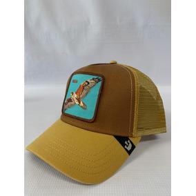 Gorra Goorin Bros. Trucker Animal Farm High Halcón Original