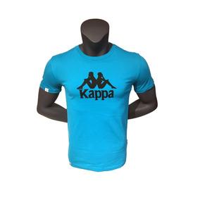 7636b6c50557e Polera Kappa Hombre Sportstyle Polera Kappa Logo Kpmpov1821g