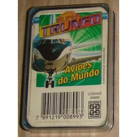 Jogo Super Trunfo - Aviões Do Mundo ( Código 899 ) Completo