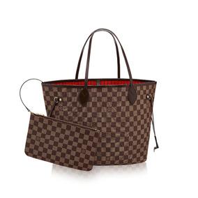 Bolsa Louis Vuitton Neverfull 100% Original Ebene Mm
