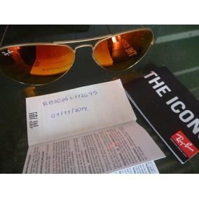 Ray Ban Aviator Usado - Óculos De Sol Ray-Ban Aviator, Usado no ... 903f18f2e5