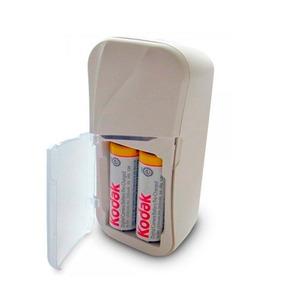Cargador Kodak De Baterias Aa/ 2100mah/ 2 Baterias Sc2ampc2