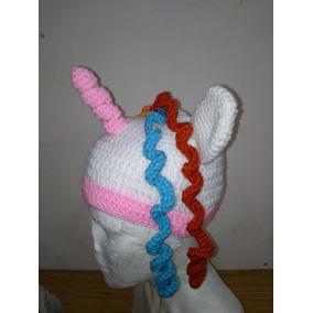 Gorro Unicornio Blanco 4 A 6 Años Niña