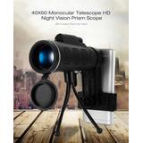 40x60 Monocular Bak4 Visión Hd Noche Telescopio P/celular.