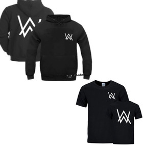 Kit Moletom De Frio Dj Alan Walker Camiseta Blusa Moleton edb277bb9f22