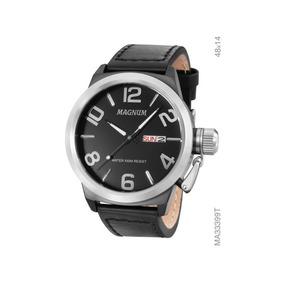 Relógio Analógico Masculino Magnum Ma33399t Preto