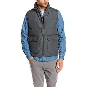 Tommy Hilfiger Micah Vest Chaleco Hombre Anorak Abrigo Verde 9450f749bee7
