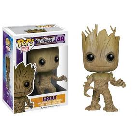 Groot Adulto Pop Funko Marvel War Galáxia - Frete Grátis