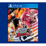 One Piece Ps4 Burning Blood Disponible