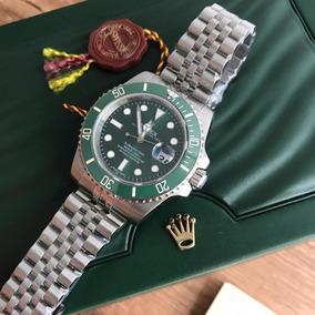 Role X Submariner Relogio Hulk Caixa Em Ceramica