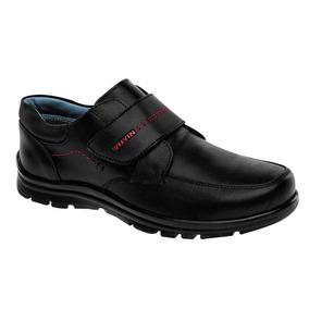 Zapato Escolar Yuyin 28291 Niño Negro 15-25 77152 Q3