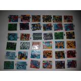Tazo Cards Montaveis Marvel Elma Chips Figurinhas Completa