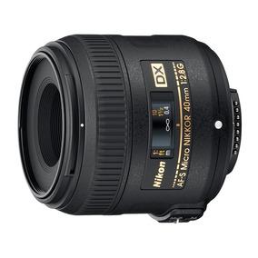 Lente Micro Af-s Dx Micro-nikkor 40mm F/2.8g Nikon