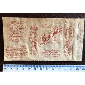 Antigua Rara Marquilla Etiqueta 10 Cigarrillos Particulares