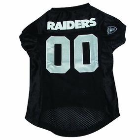 12bf5359091cf Camisa Para Perro Nfl Oakland Raiders Mascota Jersey Grande