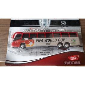 1 Onibus Trucado Miniatura Escala 1.87#copa Do Mundo