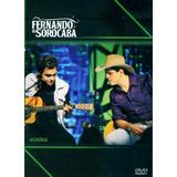 Dvd Fernando & Sorocaba - Acústico - Lacrado Frete R$ 12,00