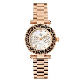 Reloj Gc Swiss Made Oro Rosa X35015l4s