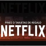 Tarjeta De Regalo Netflix 1 Mes 4 Pantallas 4k