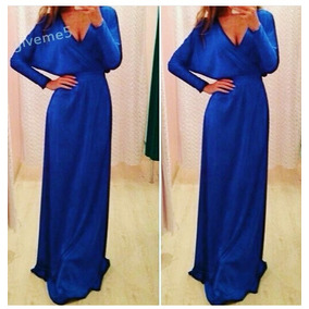 Accesorios para vestido azul rey de noche