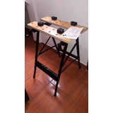 Mesa Banco De Trabajo Portatil Para Carpintero Bricolajes.