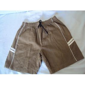 Bermuda Masculina Marrom Original Clothes Tamanho P