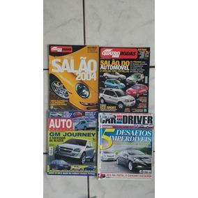 20 Revistas Quatro Rodas Motor Show Carros Auto Frete Grati