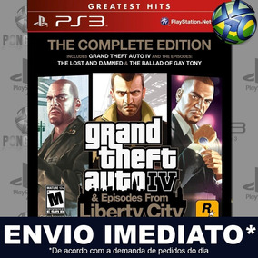 Gta 4 The Complete Edition Ps3 Digital Psn Promoção