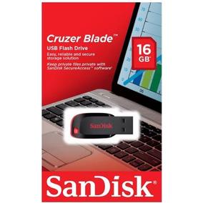 Sandisk Cruzer Blade 16gb Usb 2.0 (preguntar)