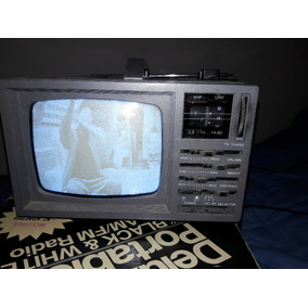 Televisor E Rádio Portátil Broksonic De 5