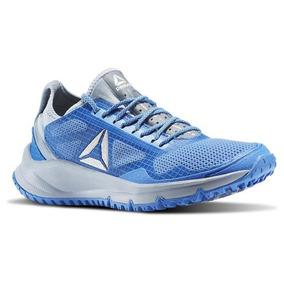 Tenis Reebok All Terrain Freedom Azul Gris Trail Running