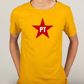 Bandeira Do Partido Dos Trabalhadores Com Estrela - Calçados 48914916ff6