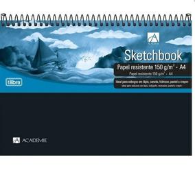 Caderno Sem Pauta A4 50 Folhas 150gr 153621 Sketchbook Espir