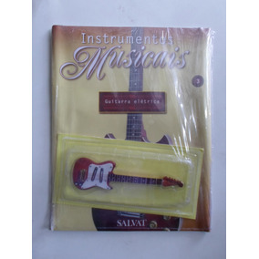 Miniatura De Instrumentos Musicais - Guitarra - Lacrado!!!!