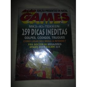 Revista Ação Games 96 Com Anexo Mortal Kombat 3 Impecável