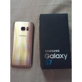 Galaxy S7 Vitrine Semi Novo Perfeito Estado Mais Brindes