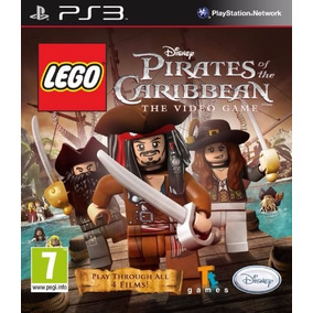 Jogo Lego Piratas Do Caribe Ps3 Playstation 3 Mídia Física