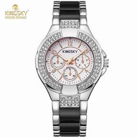 493073eb91b Relógio Chanel J12  porcelana  - Relógios De Pulso no Mercado Livre ...