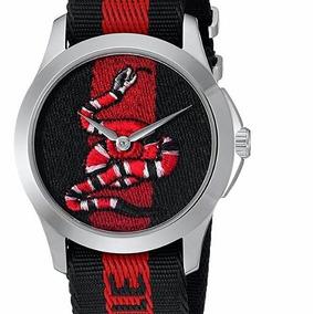 Relogio Gucci - Relógios De Pulso no Mercado Livre Brasil 07f2072f1e
