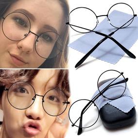 26259fe0dbc56 Óculos John Lennon Redondos Hippie Shades Retro Armacoes - Óculos no ...