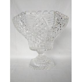 Fruteira Em Cristal Lapidado - Maravilhosa!