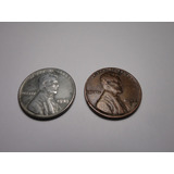 Monedas One Cent 1943 / 1944