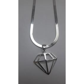 Colar Com Pingente Simbolo Diamante - Joias e Bijuterias no Mercado ... 1659955068