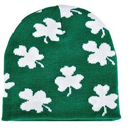 Trébol Irlandés Beanie Sombrero - St Patrick Del Trébol Del 55f77efc8c8